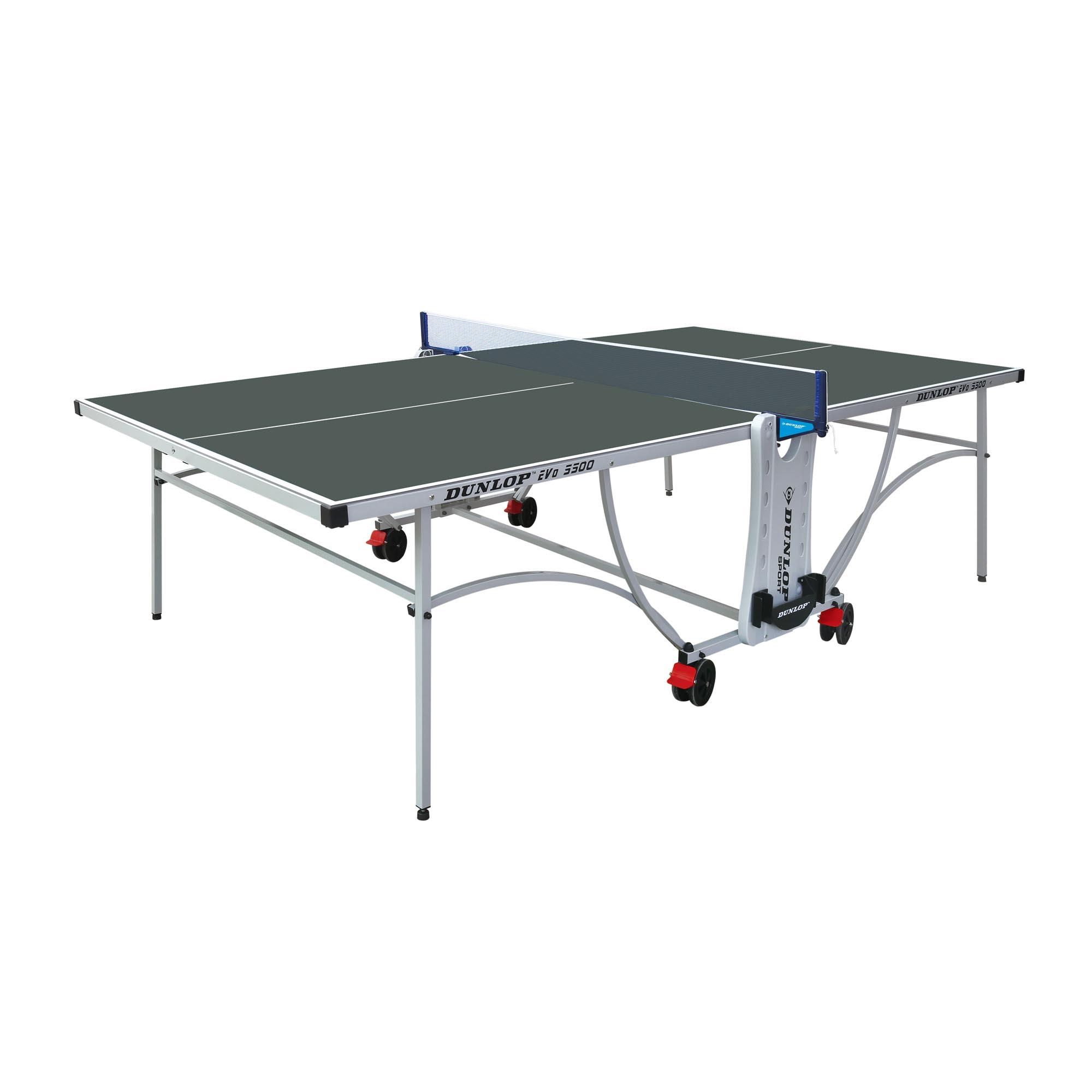 Dunlop Evo 5500 Outdoor Table Tennis Table  Green