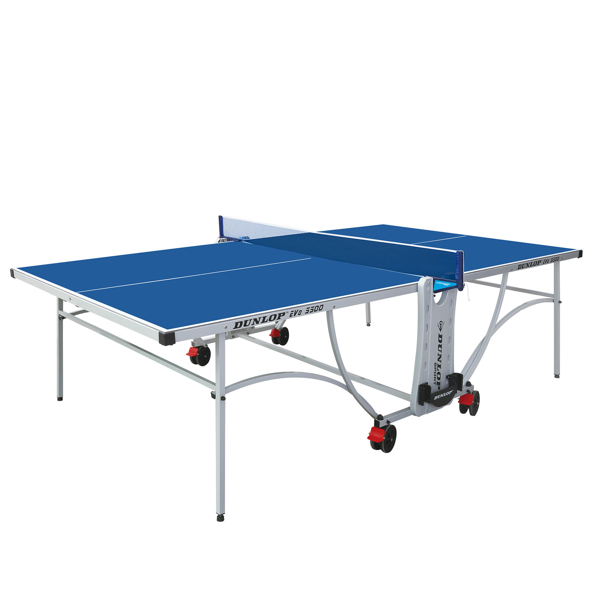 Dunlop Evo 5500 Outdoor Table Tennis Table  Blue