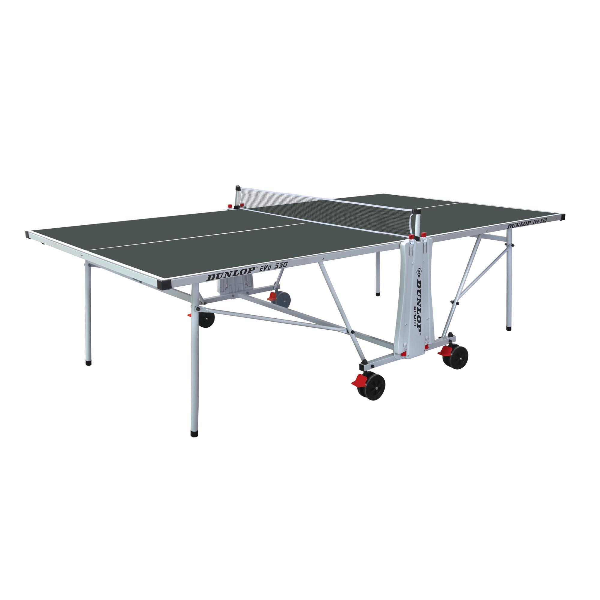 Dunlop Evo 550 Outdoor Table Tennis Table  Green