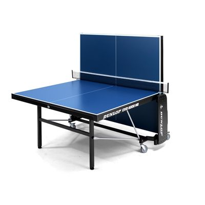 Dunlop Evo 6000 HD Indoor Table Tennis Table - Folded