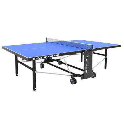 Dunlop EVO 7000 Outdoor Table Tennis Table - Open
