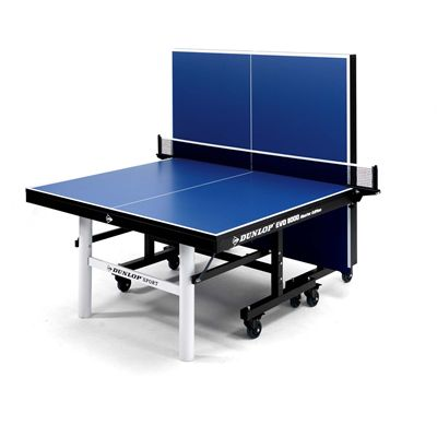 Dunlop EVO 8000 Master Edition Indoor Table Tennis Table - Blue - Playback
