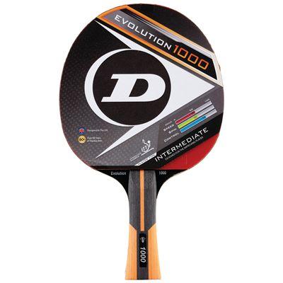 Dunlop Evolution 1000 Table Tennis Bat - Main