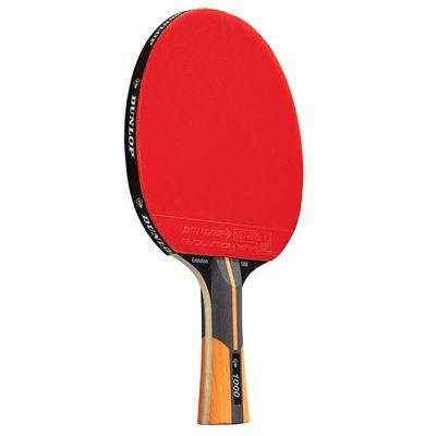 Dunlop Evolution 1000 Table Tennis Bat- Front View