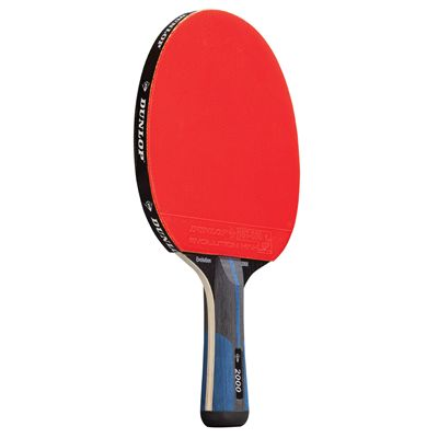 Dunlop Evolution 2000 Table Tennis Bat - Front View