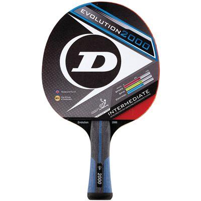 Dunlop Evolution 2000 Table Tennis Bat - Main