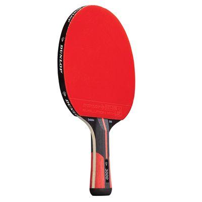 Dunlop Evolution 3000 Table Tennis Bat - Front View