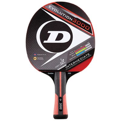Dunlop Evolution 3000 Table Tennis Bat - Main