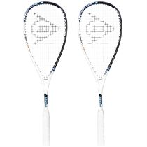 Dunlop Force Evolution 130 Squash Racket Double Pack