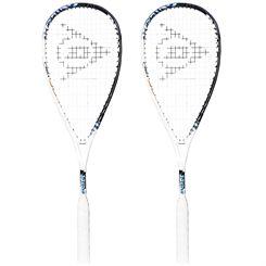 Dunlop Force Evolution 130 Squash Racket Double Pack