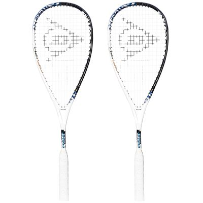 Dunlop Force Evolution 130 Squash Racket Double Pack - Main Image