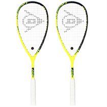 Dunlop Force Revelation 125 Squash Racket Double Pack