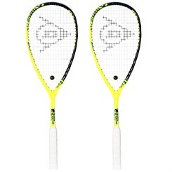 Dunlop Force Revelation 125 Squash Racket Double Pack
