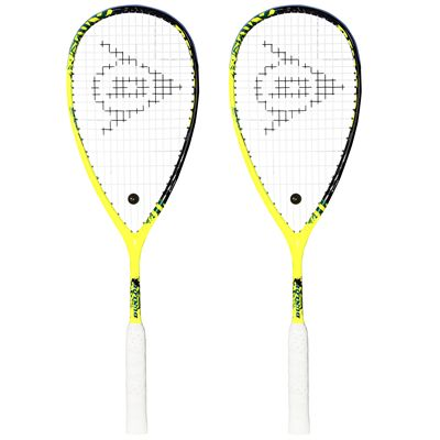 Dunlop Force Revelation 125 Squash Racket Double Pack Image - Main