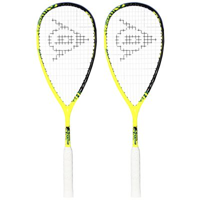 Dunlop Force Revelation 125 Squash Racket Double Pack Image