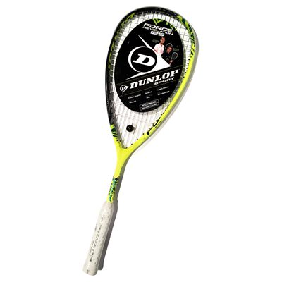 Dunlop Force Revelation 125 Squash Racket - Cover and Racket - Sticker