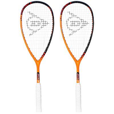 Dunlop Force Revelation 135 Squash Racket Double Pack