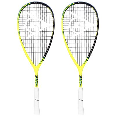 Dunlop Force Revelation Junior Squash Racket Double Pack