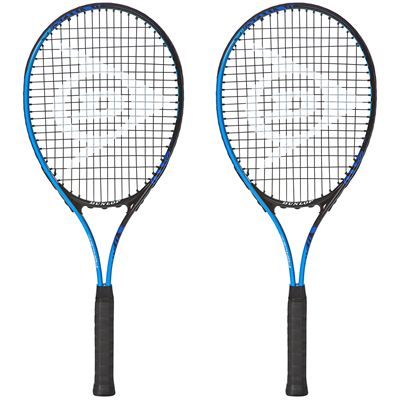Dunlop Force Team 27 Junior Tennis Racket Double Pack