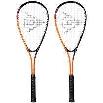 Dunlop Force Ti Squash Racket Double Pack