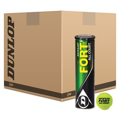 Dunlop Fort All Court Tennis Balls Box