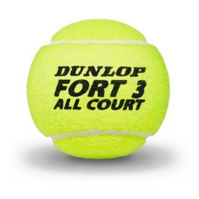 Dunlop Fort All Court Tournament Select Tennis Balls - Ball