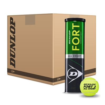 Dunlop Fort All Court Tournament Select Tennis Balls - 6 Dozen