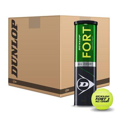 Dunlop Fort All Court Tournament Select Tennis Balls - 6 Dozen