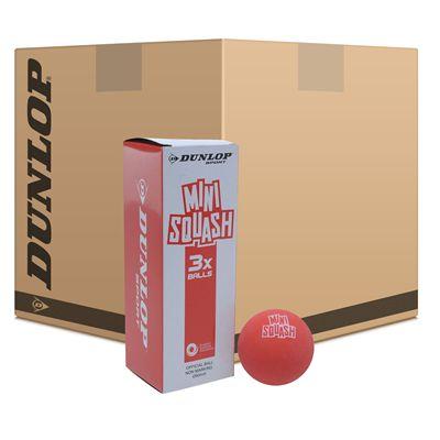 Dunlop Fun Mini Squash Balls - 6 Dozen