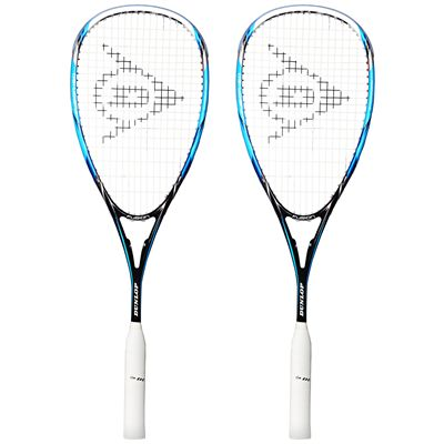 Dunlop Fusion 150 Squash Racket Double Pack