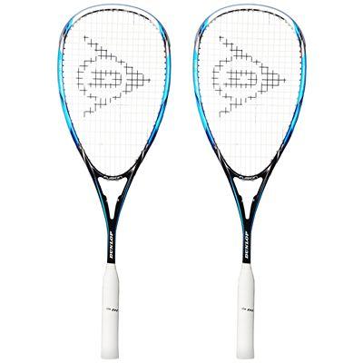 Dunlop Fusion 150 Squash Racket Double Pack