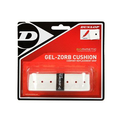 Dunlop Gel Zorb Cushion Replacement Grip - White