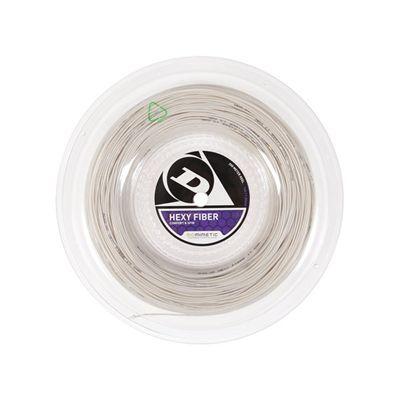 Dunlop Hexy Fibre 1.31mm Tennis String - 200m Reel