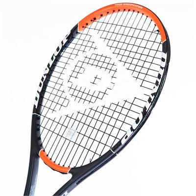 Dunlop Hot Melt 300 G Tennis Racket - Head View