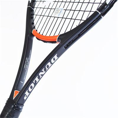Dunlop Hot Melt 300 G Tennis Racket - Throat View