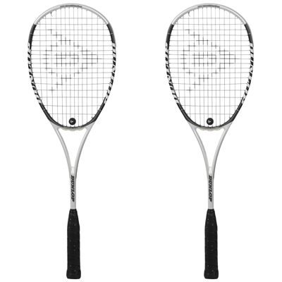 Dunlop HotMelt Pro Squash Racket Double Pack