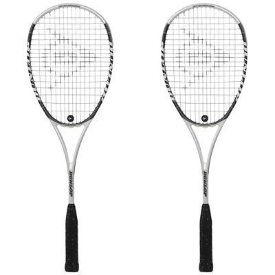 Dunlop HotMelt Pro Squash Racket Double Pack