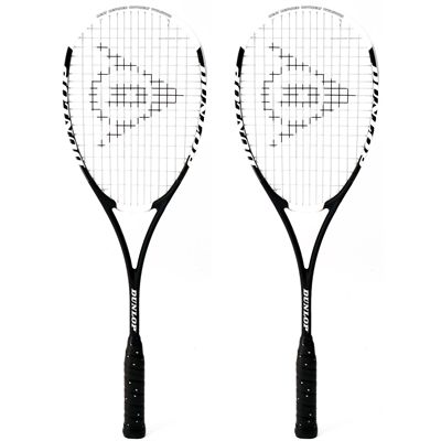 Dunlop HotMelt Pro Squash Racket Double Pack AW16