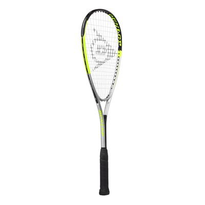 Dunlop Hyper Lite Ti 4.0 Squash Racket Double Pack - Angled
