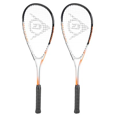 Dunlop Hyper Ti Squash Racket Double Pack