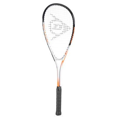 Dunlop Hyper Ti Squash Racket - Angled