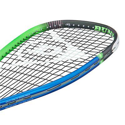 Dunlop Hyperfibre Evolution Racketball Racket - Angle3
