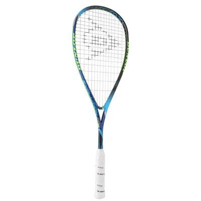 Dunlop Hyperfibre Plus Evolution Pro Nick Matthew Squash Racket - Angled