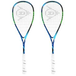 Dunlop Hyperfibre Plus Evolution Pro Squash Racket Double Pack
