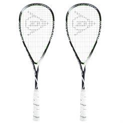 Dunlop Hyperfibre Plus Evolution Squash Racket Double Pack