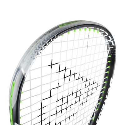 Dunlop Hyperfibre Plus Evolution Squash Racket - Above