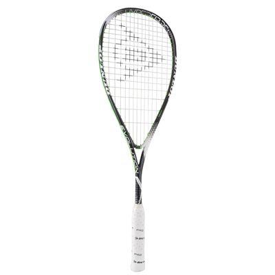 Dunlop Hyperfibre Plus Evolution Squash Racket - Angled