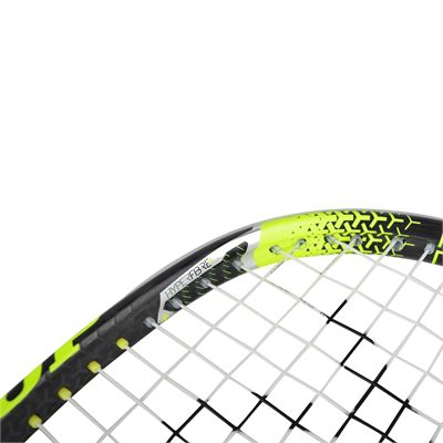 Dunlop Hyperfibre Plus Revelation 125 Squash Racket Double Pack - Angle