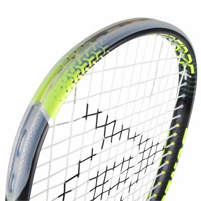 Dunlop Hyperfibre Plus Revelation 125 Squash Racket - Above