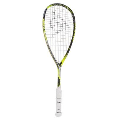 Dunlop Hyperfibre Plus Revelation 125 Squash Racket - Angled